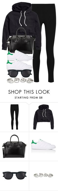 """Style #11488"" by vany-alvarado ❤ liked on Polyvore featuring Joseph, H&M, Givenchy, adidas and Yves Saint Laurent"