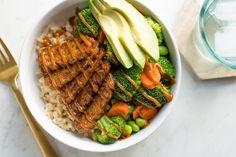 Recipe:  Spicy Peanut Tempeh Bowl — Hearty Vegan
