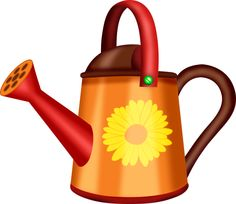 CH B *✿* Friendship Flowers, Watering Can, Clip Art, Canning, Gardens, Floral Decorations, Plant Pots, Home Canning, Conservation