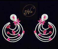 Namrata Singh Fine Jewellery - call It Spring Collection , Rubies & Diamond Earrings in 18 kt gold.