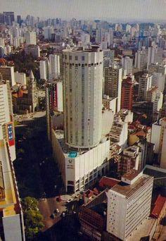 Década de 80 - Hotel Hilton na avenida Ipiranga.