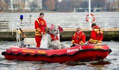 Manni DLRG Rettungsboot - mit Unterstützung der #Haspa angeschafft