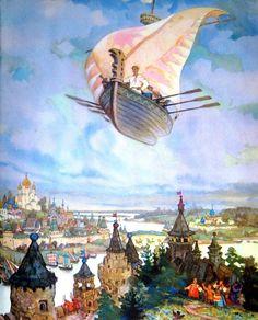 Николай Кочергин иллюстратор русских сказок . Обсуждение на LiveInternet - Российский Сервис Онлайн-Дневников