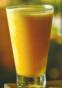 Suco Antioxidante de Cenoura e Maracujá