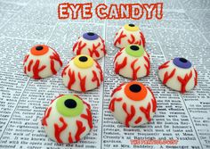 The Partiologist: Eye for an Eye!~ *EYE CANDY* Oreo Cookie Blood Shots!