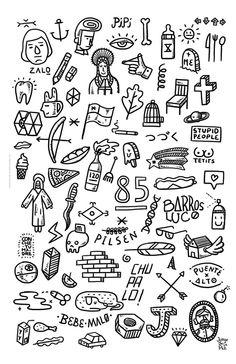 Flashes Art Print