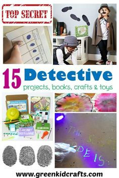 More than just a detective kit for kids, this discovery box from Green Kid Crafts is full of detective science activities...