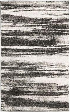 $5 Off when you share! Safavieh Retro RET2693 Dark Grey Rug | Contemporary Rugs #RugsUSA