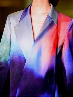 From Mark Rothko to Mary Katrantzou, (fall 2013). Penelope's taste in art extends to her wardrobe.