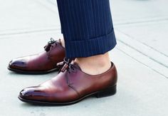 Love these shoes - and no socks!