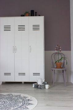 Flexa Heart Wood kleur van het jaar 2018 Urban Taupe lambrisering DIY make over Akzonobel kleurentrends flexabloggers huisjeaandehaven