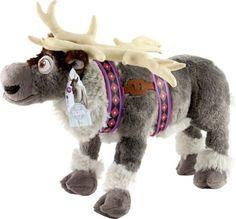 "16"" Disney Frozen Movie Sven Reindeer Plush Doll Toy NWT Soft Authentic"