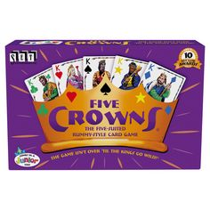 Family Card Games, Fun Card Games, Card Games For Kids, Electronic Cards, Electronic Invitations, Tween Games, Family Game Night, Best Games, Crowns