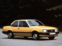 Opel ascona c1 2 puertas 1981 1984