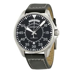 e42580fd9b Hamilton Khaki Pilot Automatic Black Dial Men s Watch H64615735