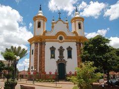 Barão de Cocais, MG - Brasil Santuário São João Batista