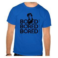 "Camiseta ""So Bored"" da www.mypoptee.com.br"