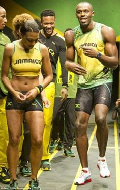 Jamaica !  It's not just Usain Bolt, the Jamaican women can run too.
