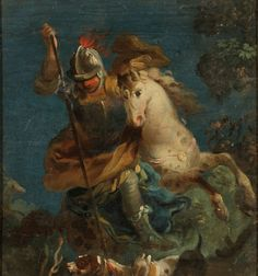 Giovanni Battista Tiepolo 1696 Venedig - 1770 Madr  oh, just lovely, and completely satisfies all of my romantic bones....