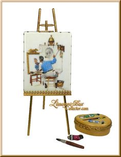 Norman Rockwell Triple Self-Portrait (Beauchamp) --ltd. edition--$249(was $450)