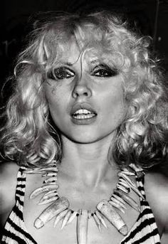 """Debbie Harry-Best known for being the lead singer of the punk rock and new wave band Blondie. Blondie was formed in 1976.After a debut album in 1976, commercial success followed in the late '70s to the early '80s.""""Heart of Glass"""" hit No.1 in the US and sold nearly two million copies.   follow-up single """"One Way Or Another"""" reached No.24 on Billboard's Hot 100."""