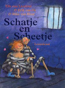 Schatje en Scheetje geanimeerd digitaal prentenboek naar het boek van Elle van Lieshout, Erik van Os en Mies van Hout - Wepboek - Thema #Thuis