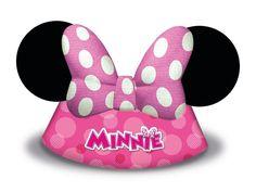 Pinkki Minni- juhlahattu