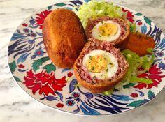 Huevos escoceses (Scotch eggs)
