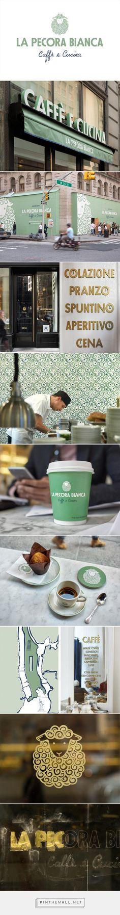 Brand Identity for La Pecora Bianca by Pentagram — #Pattern