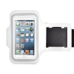 iPhone 5 Armband in White