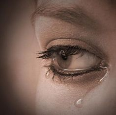 Image result for picture of sorrowful eyes with tears