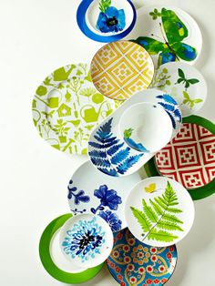 Set a Colorful Table from bhg.com | perfect advice for summer entertaining or even year round!