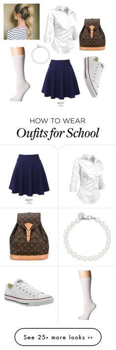 """School"" by nikki-annabel on Polyvore"