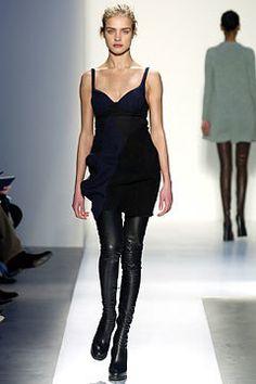 Balenciaga Fall 2003 Ready-to-Wear Fashion Show - Natalia Vodianova, Nicolas Ghesquière