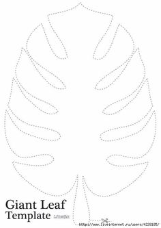 Hoja hawaiana Jungle Leaf Template for giant leaves between rooms and on ceiling, Better looking burlap leaves for names on inside door and these froDiscover thousands of images about Jungle Leaf images of large palm leaf template printabl Moana Birthday Party, Moana Party, Dinosaur Birthday Party, Luau Party, Birthday Parties, Luau Birthday, Flamingo Party, Diy Paper, Paper Crafts