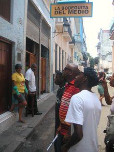 La Bodeguita del Medio en La Habana #Cuba