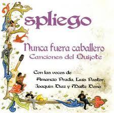 """""""Nunca fuera caballero"""". Espliego. España, 2004. Encuentra esta grabación sonora en la Mediateca: Espliego-NUN Knight"""
