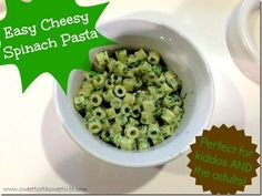 Toddlers and adults should both love healthy toddler meals. Delicious cheese and pasta combine with green veggies you can feel good about serving!