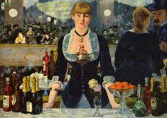 """Edouard Manet, """"Bar aux Folies Bergères"""", 1882"""