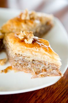 This is hands down the BEST baklava recipe I have ever tried, tastes SO good. Easy ingredients, detailed instructions and step-by-step pictures.