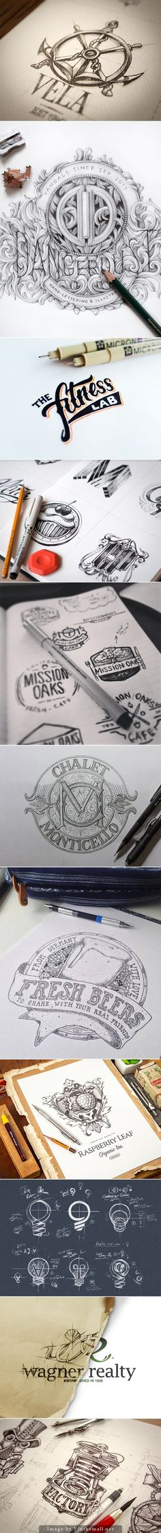 logo sketches #process