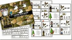 """A """"Quacktacular"""" Gift for YOU! Math Spiral Review"""
