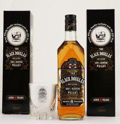 Black Douglas 8YO Scotch Whisky NV + Whiskey Tumbler (3 x 750mL) Scotland