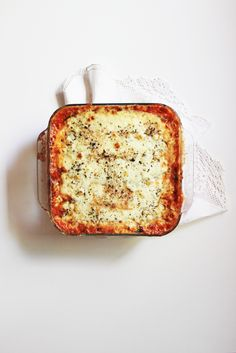 No-Noodle Zucchini Lasagna | Say Yes to Hoboken