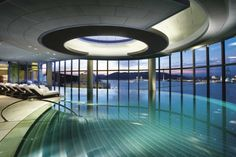 Indoor Swimming Pool infinite-Crown Towers Hotel in Taipa Island Macau