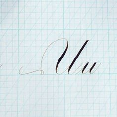 """258 Likes, 26 Comments - Bespoke Strokes Calligraphy (@bespokestrokes) on Instagram: """"U make me smile. I'm having a """"it's better to just laugh it off"""" moment over here: while writing…"""""""