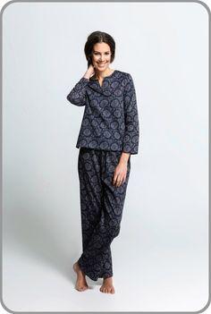 e6019baf02b5 Dahlia - Tunic Top with Pants Set. Moonbird Designs. Long Sleeve ...