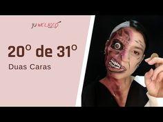 20º de 31º- Maquiagem Duas Caras - Batman Tutorial - Halloween 2020 - YouTube Batman, Halloween 2020, My Works, Halloween Face Makeup, Youtube, Face Mas, Youtubers, Youtube Movies