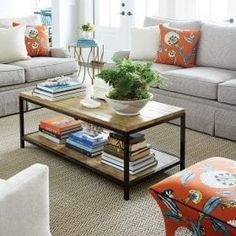 Southern Living Idea House in Charlottesville, VA Porch Furniture, Space Furniture, Living Room Furniture, Coastal Color Palettes, Coastal Colors, Family Room, Home And Family, Charlottesville Va, Southern Living Homes