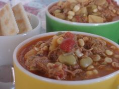 Old Fashioned Brunswick Stew to feed your crew! Easy to make, impressive, tasty and it feeds a lot.